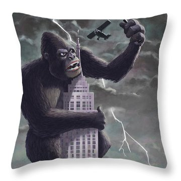 Monkey Throw Pillows