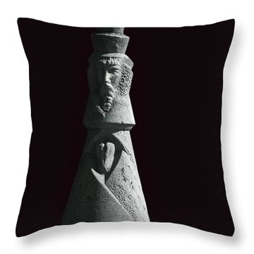 King Of Hearts Throw Pillow by Margie Hurwich