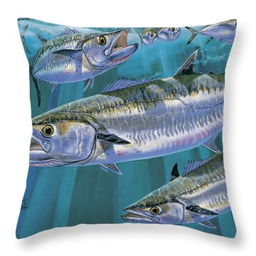 King Of Kings Off0090 Throw Pillow by Carey Chen