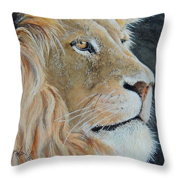 King Of The Forest.  Sold Throw Pillow