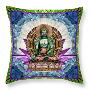 Throw Pillow featuring the photograph King Panacea by Bell And Todd