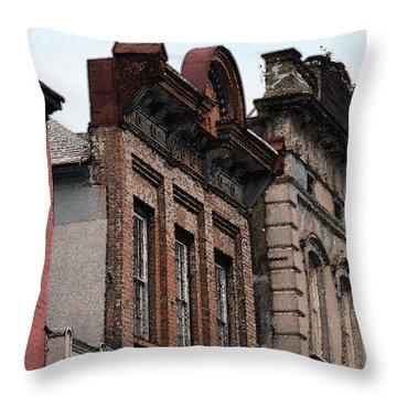King Street Facade Throw Pillow