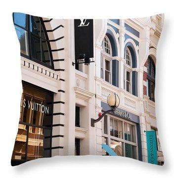 King Street 01 Throw Pillow