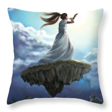 Kingdom Call Throw Pillow by Tamer and Cindy Elsharouni