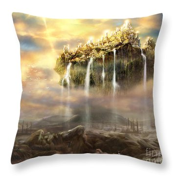 Kingdom Come Throw Pillow by Tamer and Cindy Elsharouni