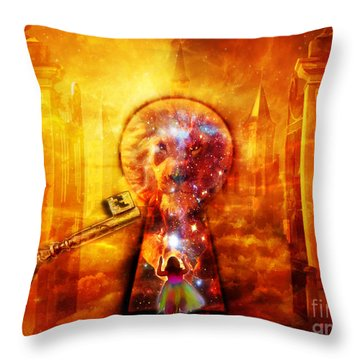 Kingdom Of Heaven Throw Pillow