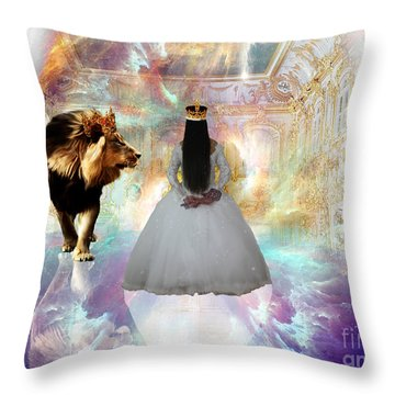 Kingdom Seer  Throw Pillow
