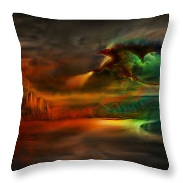 Kings Landing - Winter Is Coming Throw Pillow by Lilia D