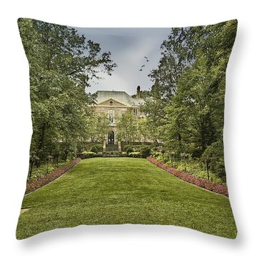 Kingwood Center Throw Pillow by Mary Timman