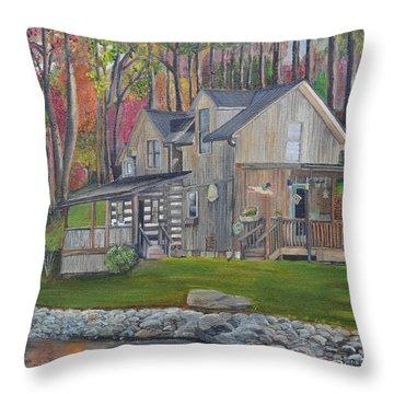 Kirkner Cabin Throw Pillow