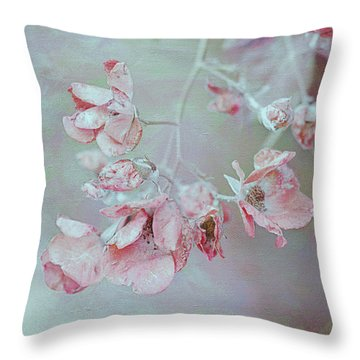 Kissed By The Morning Light Throw Pillow