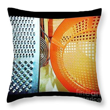 #kitchen #abstracts Throw Pillow by Isabella F Abbie Shores FRSA