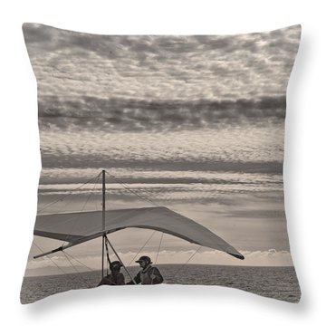 Throw Pillow featuring the photograph Kitty Hawk by Joseph Hollingsworth