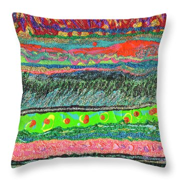 Kitzie's River Throw Pillow