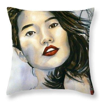 Kiyomi Throw Pillow