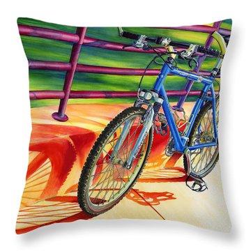 Klein Pulse Comp Throw Pillow