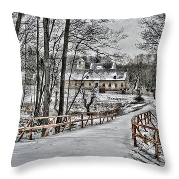 Kloster St. Anna  Throw Pillow