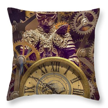 Knight Time Throw Pillow