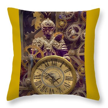 Knight Time - Chuck Staley Throw Pillow