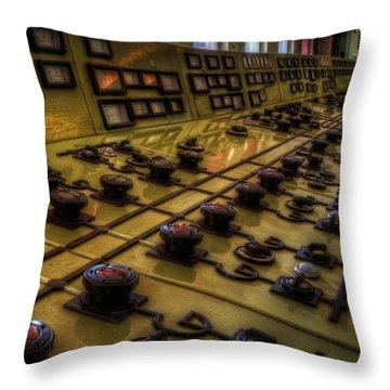 Knobs Throw Pillow