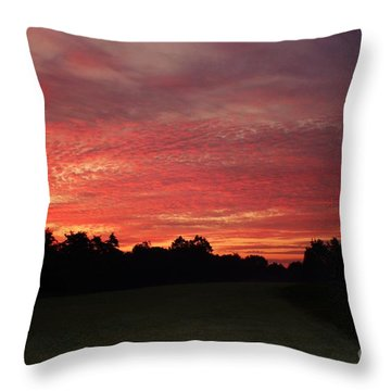 Knock Knocking On Heavens Door Throw Pillow