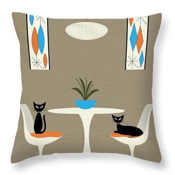 Knoll Table Throw Pillow