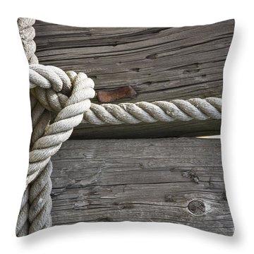 Knot Great Throw Pillow