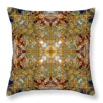 Knots Xii Throw Pillow