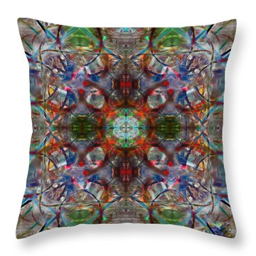 Knots Xiv Throw Pillow