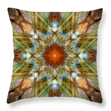 Knots Xvi Throw Pillow