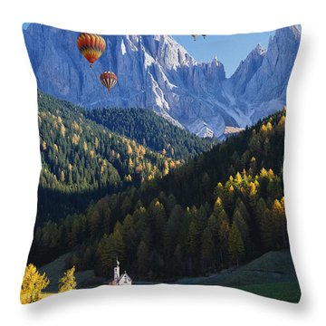 Know No Bounds Throw Pillow
