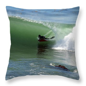 Know What Lies Beneath Throw Pillow