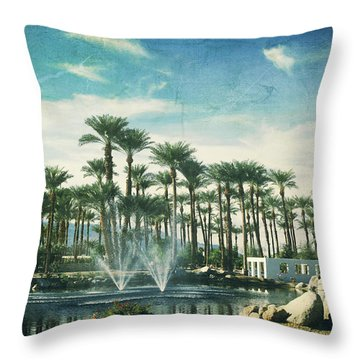 Knowing What Matters Throw Pillow by Laurie Search