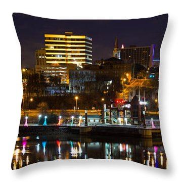 Knoxville Waterfront Throw Pillow