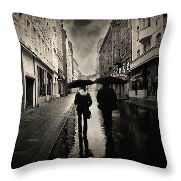 Koblizna Throw Pillow by Taylan Apukovska