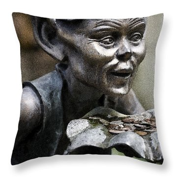 Kobold Throw Pillow by Heiko Koehrer-Wagner