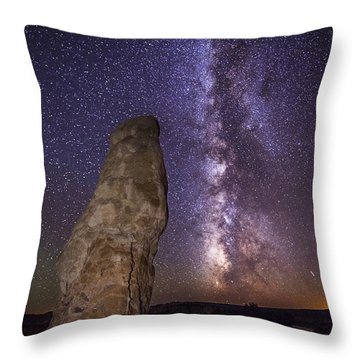 Throw Pillow featuring the photograph Kodachrome Galaxy by Dustin  LeFevre