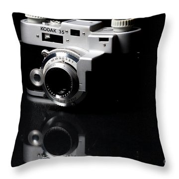 Kodak 35rf Throw Pillow by Lawrence Burry