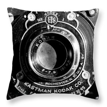Kodak Brownie 2 Throw Pillow