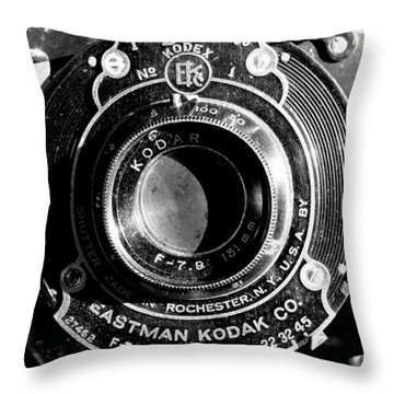 Kodak Brownie 2 Throw Pillow