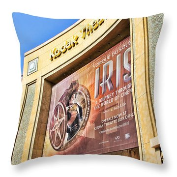 Kodak Theatre Throw Pillow