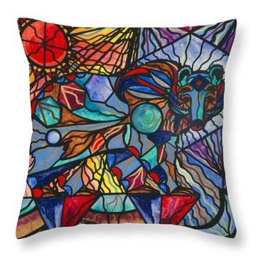 Kodiak Bear Throw Pillow by Teal Eye  Print Store