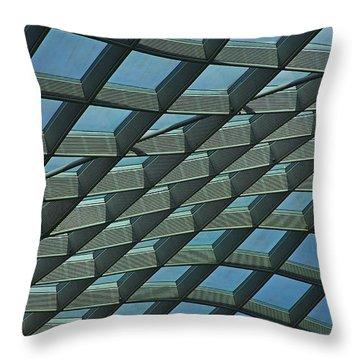 Kogod Courtyard Ceiling #6 Throw Pillow