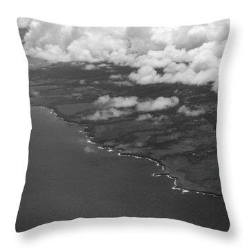 Kona And Clouds Throw Pillow
