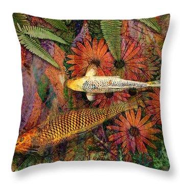 Kona Kurry Throw Pillow by Christopher Beikmann