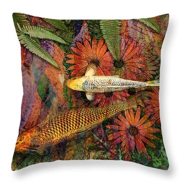 Kona Kurry Throw Pillow