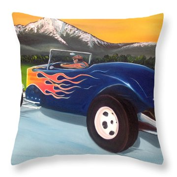 Kool 33 Throw Pillow