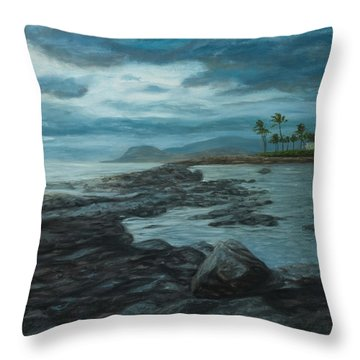 Ko'olina Afternoon Throw Pillow