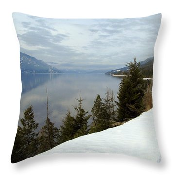 Kootenay Paradise Throw Pillow
