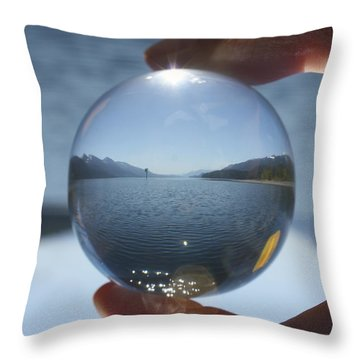 Kootenay Time Throw Pillow